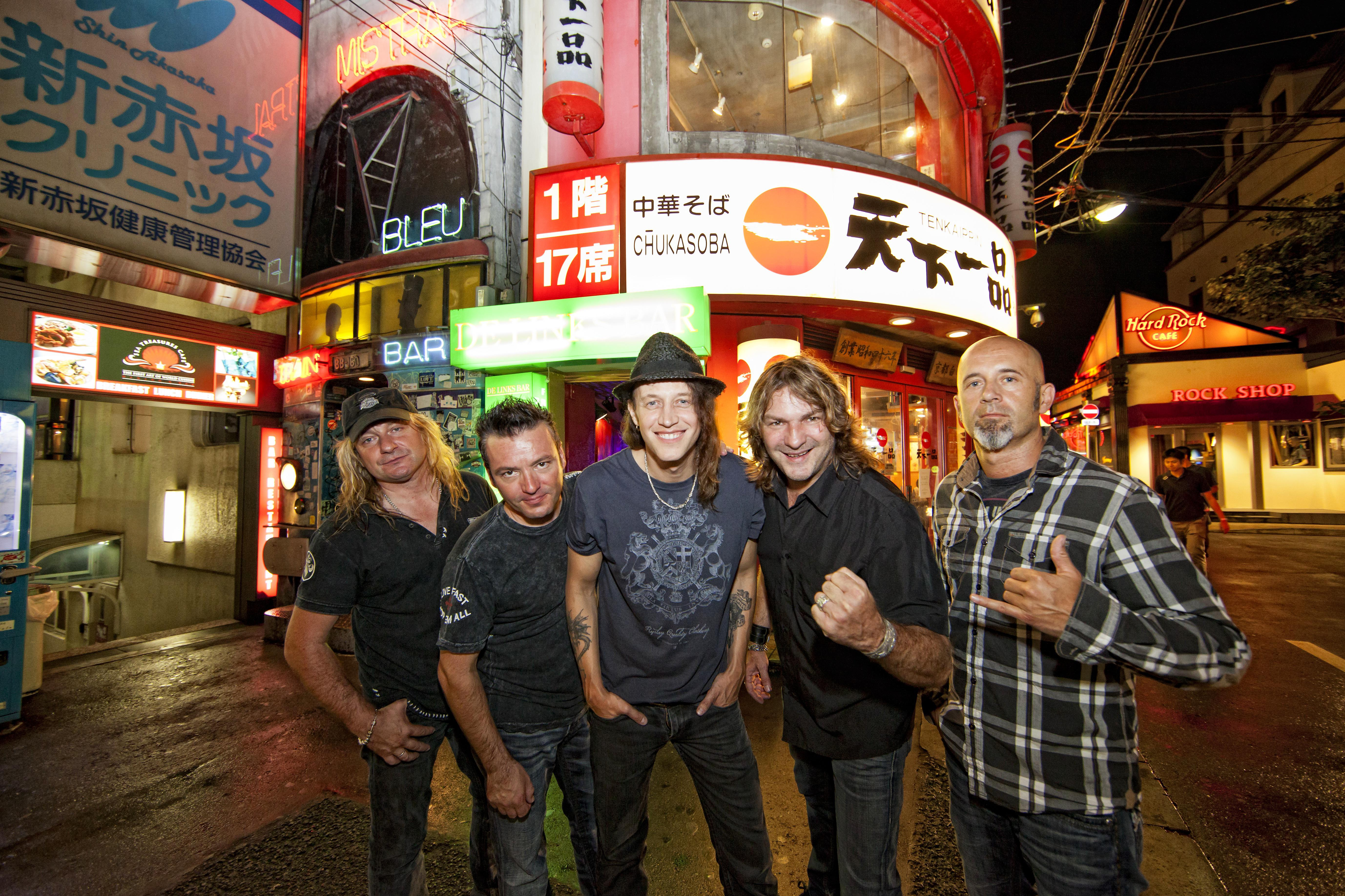 WITH GOTTHARD IN JAPAN